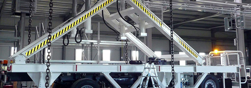 Bild: ground support equipment with proven durability